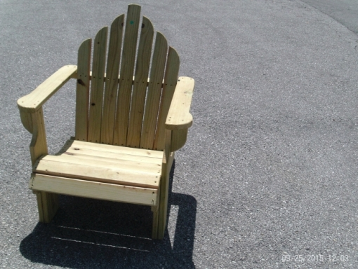 Adirondack Chair, Scenic Rivers Industries Inc.